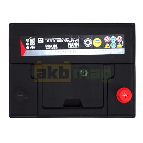 Автомобильный аккумулятор Fiamm 6СТ-60 Titanium Black Asia