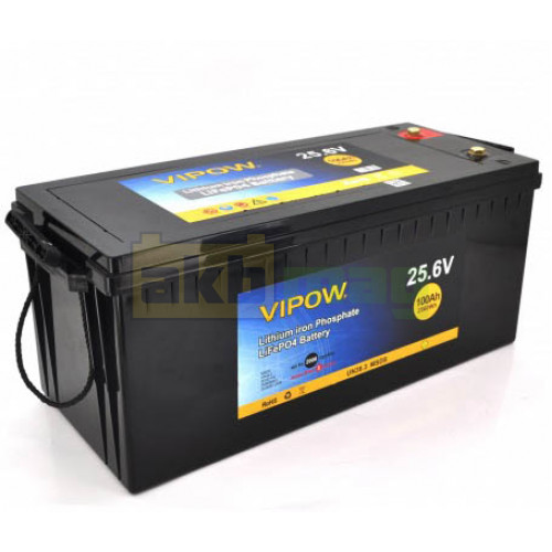 Аккумулятор Vipow LiFePO4 24V 100AH (BMS 80)