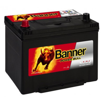 Автомобильный аккумулятор Banner 6СТ-70 Power Bull P7024