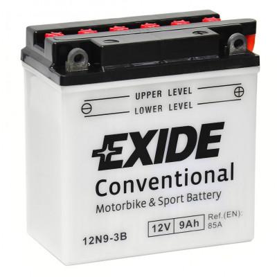 Мото аккумулятор Exide 6СТ-9 12N9-3B