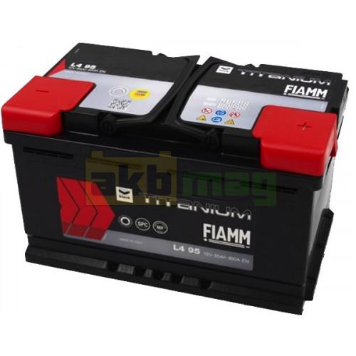Автомобильный аккумулятор Fiamm 6СТ-95 Titanium Black Asia