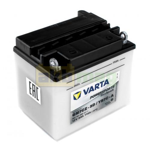 Мото аккумулятор Varta 6СТ-8 PowerSport YB7C-A