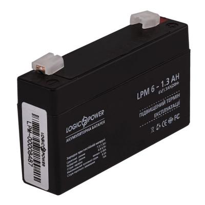 Аккумулятор LogicPower LPM6-1,3