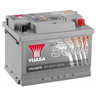 Автомобильный аккумулятор Yuasa 6СТ-60 SHP YBX5075