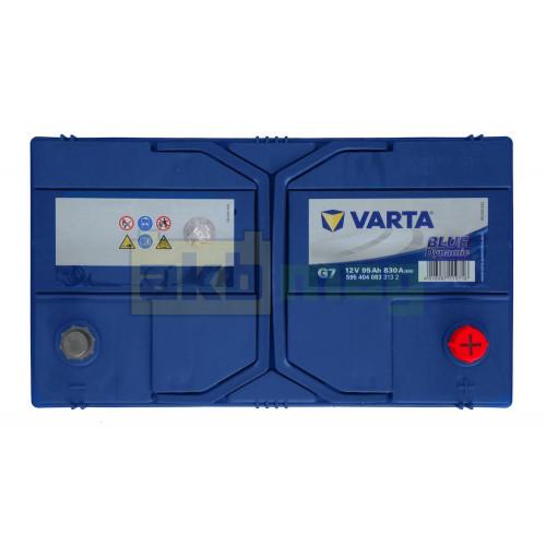 Автомобильный аккумулятор Varta 6СТ-95 G7 Blue Dynamic