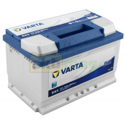 Автомобильный аккумулятор Varta 6СТ-72 E43 Blue Dynamic
