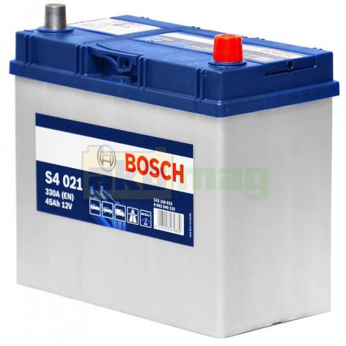 Автомобильный аккумулятор Bosch 6СТ-45 S4 021 0092S40210