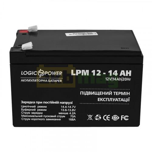 Аккумулятор LogicPower LPM12-14