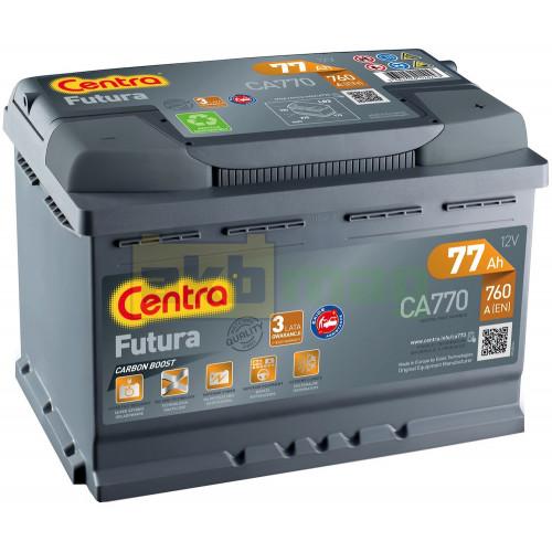 Автомобильный аккумулятор Centra 6СТ-77 Futura CA770