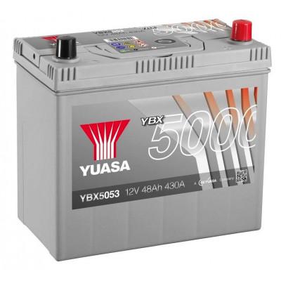 Автомобильный аккумулятор Yuasa 6СТ-50 SHP YBX5053