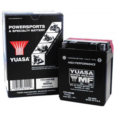 Мото аккумулятор Yuasa 6СТ-12,6 YTX14AH-BS