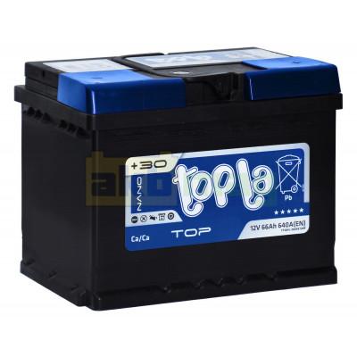 Автомобильный аккумулятор Topla 6СТ-66 TOP