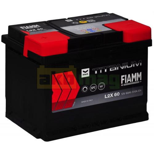 Автомобильный аккумулятор Fiamm 6СТ-60 Titanium Black