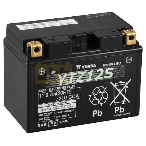 Мото аккумулятор Yuasa 6СТ-11,6 YTZ12S