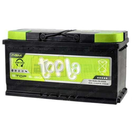 Автомобильный аккумулятор Topla 6СТ-95 Start-Stop&Go AGM