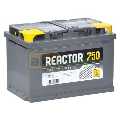 Автомобильный аккумулятор Reactor 6СТ-75