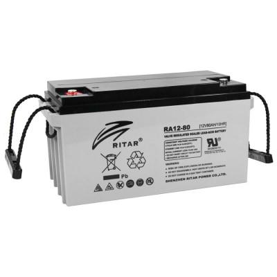 Аккумулятор Ritar DC12-80