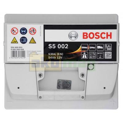 Автомобильный аккумулятор Bosch 6СТ-54 S5 002 0092S50020