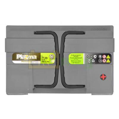 Автомобильный аккумулятор Plazma 6СТ-74 Premium