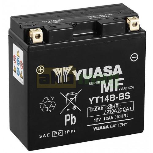 Мото аккумулятор Yuasa 6СТ-12,6 YT14B-BS