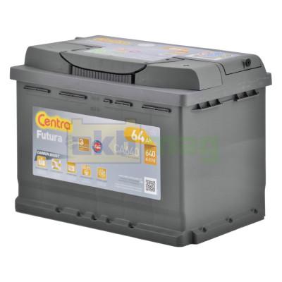 Автомобильный аккумулятор Centra 6СТ-64 Futura CA640