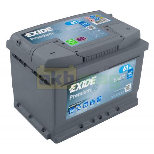 Автомобильный аккумулятор Exide 6СТ-61 Premium EA612