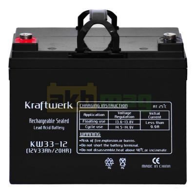 Аккумулятор Kraftwerk 33 Ач KW33-12