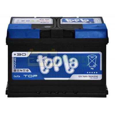 Автомобильный аккумулятор Topla 6СТ-78 TOP