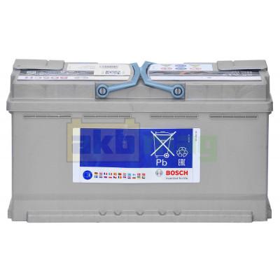 Автомобильный аккумулятор Bosch 6СТ-95 S5 A13 AGM 0092S5A130