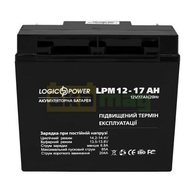 Аккумулятор LogicPower LPM12-17
