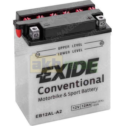 Мото аккумулятор Exide 6СТ-12 EB12AL-A2