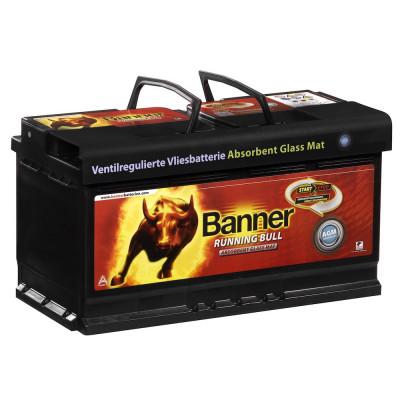 Автомобильный аккумулятор Banner 6СТ-105 Running Bull AGM 60501