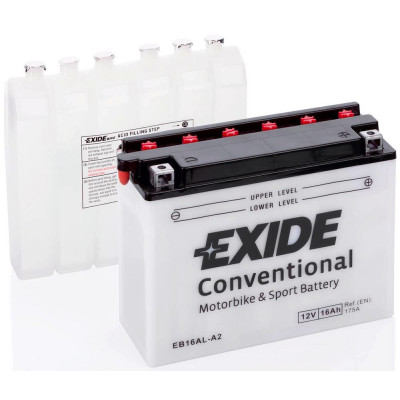 Мото аккумулятор Exide 6СТ-16 EB16AL-A2