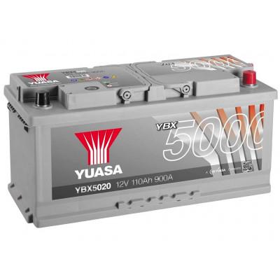 Автомобильный аккумулятор Yuasa 6СТ-110 SHP YBX5020