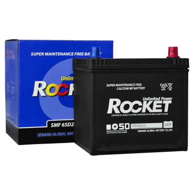 Автомобильный аккумулятор Rocket 6СТ-54 65D20AL
