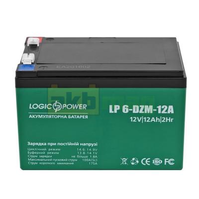 Тяговый аккумулятор LogicPower LP6-DZM-12