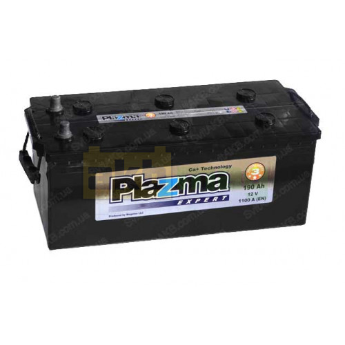 Грузовой аккумулятор Plazma 6СТ-190 Expert