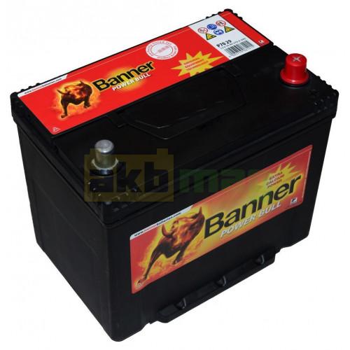 Автомобильный аккумулятор Banner 6СТ-70 Power Bull P7029