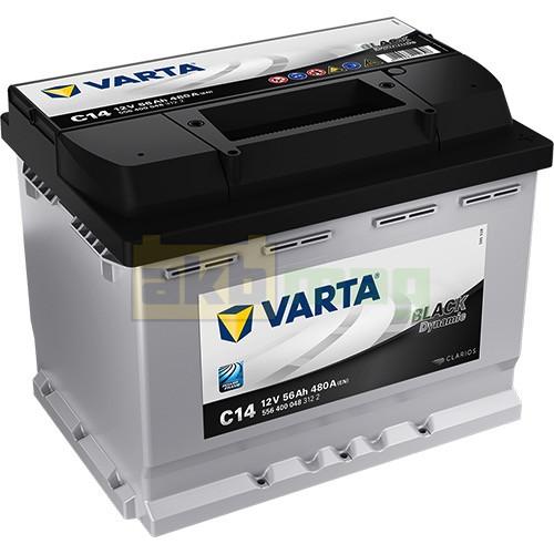 Автомобильный аккумулятор Varta 6СТ-56 C14 Black Dynamic