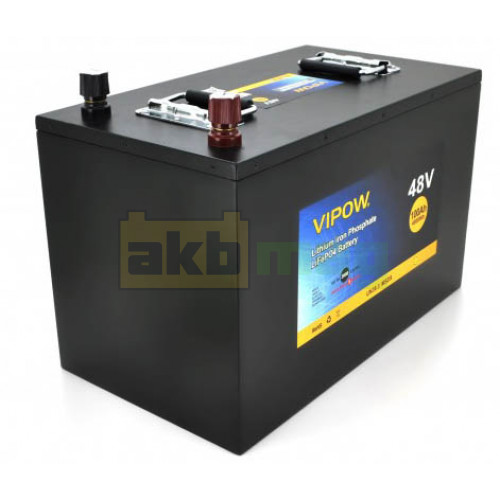Аккумулятор Vipow LiFePO4 48V 100AH (BMS 80)