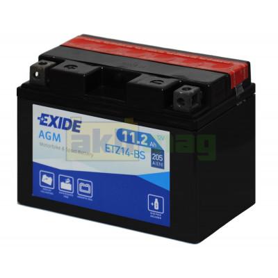 Мото аккумулятор Exide 6СТ-11,2 ETZ14-BS