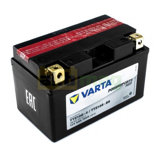 Мото аккумулятор Varta 6СТ-8 PowerSports AGM TTZ10S-BS