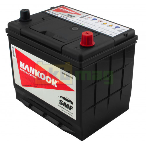 Автомобильный аккумулятор Hankook 6СТ-65 SMF 75D23FL