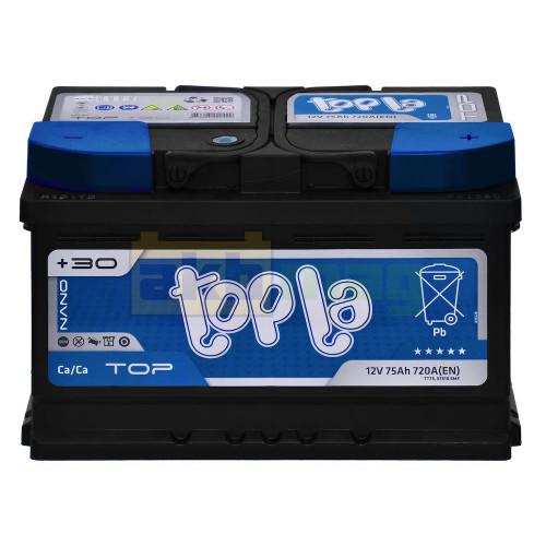 Автомобильный аккумулятор Topla 6СТ-75 TOP