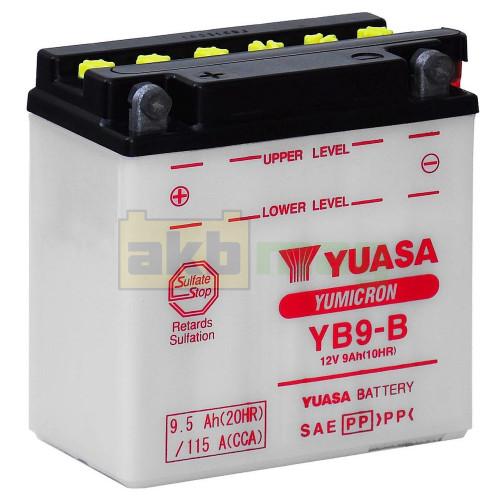 Мото аккумулятор Yuasa 6СТ-9,5 YuMicron YB9-B