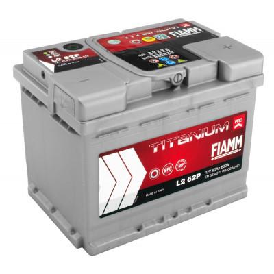 Автомобильный аккумулятор Fiamm 6СТ-60 Titanium Pro 600A