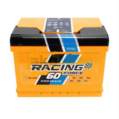 Автомобильный аккумулятор Racing Force 6СТ-60