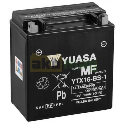 Мото аккумулятор Yuasa 6СТ-14,7 YTX16-BS-1