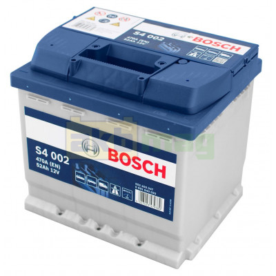 Автомобильный аккумулятор Bosch 6СТ-52 S4 002 0092S40020