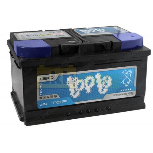 Автомобильный аккумулятор Topla 6СТ-85 TOP
